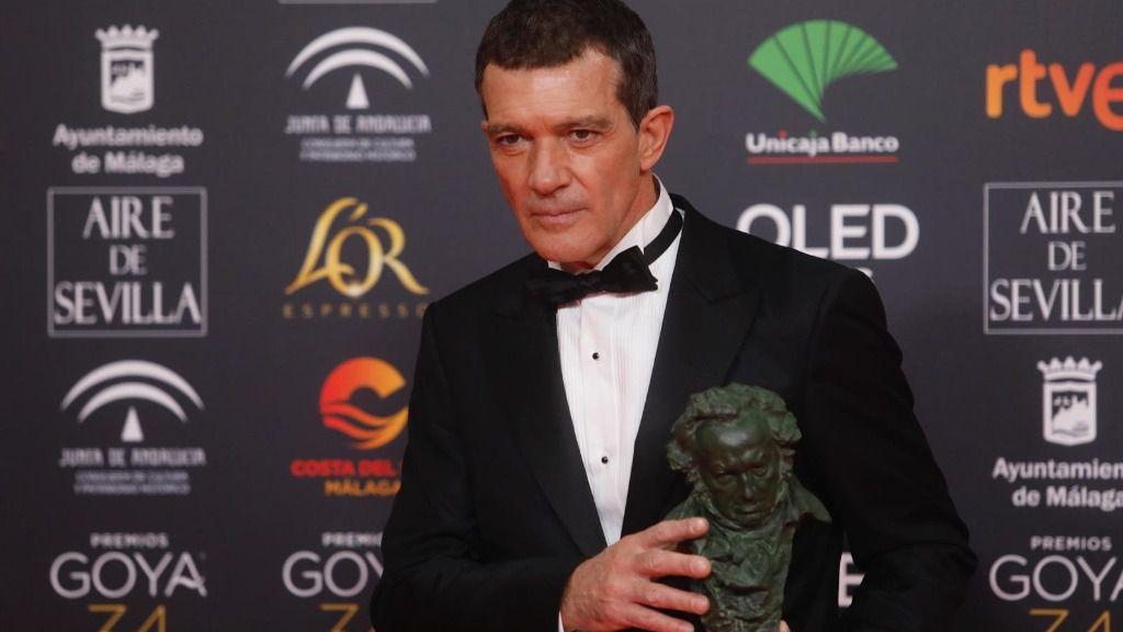 Mejor actor protagonista para Antonio Banderas por Dolor y gloria en la XXXIV edición de los Premios Goya