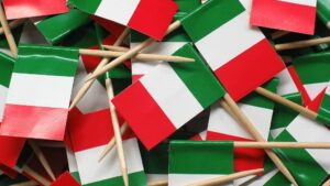 Banderas de Italia
