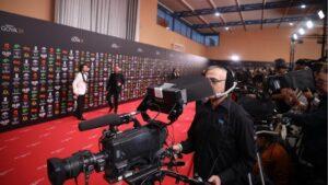 Recursos de la alfombra roja de la XXXIV edición de los Premios Goya, en Málaga
