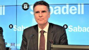 Consejero delegado de Banco Sabadell, Jaume Guardiola