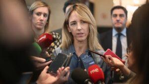 La portavoz del Partido Popular en el Congreso, Cayetana Álvarez de Toledo