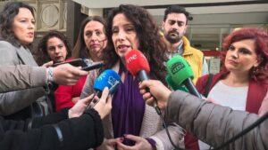 La consejera de Igualdad, Políticas Sociales y Conciliación de la Junta, Rocío Ruiz