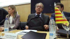 El consejero de Hacienda, Carlos Pérez Anadón, ha participado este viernes en el Consejo de Política Fiscal