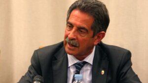 Miguel Ángel Revilla, presidente de la comunidad autónoma de Cantabria