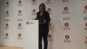 La presidenta de la Diputación de Barcelona, Núria Marín