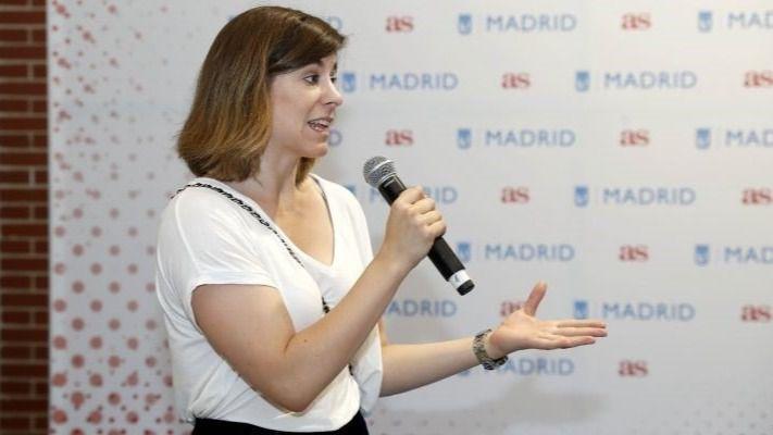 La concejala delegada de Deportes del Ayuntamiento de Madrid, Sofía Miranda