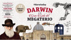 Cartel del homenaje del MNCN-CSIC a Darwin por su 211 aniversario