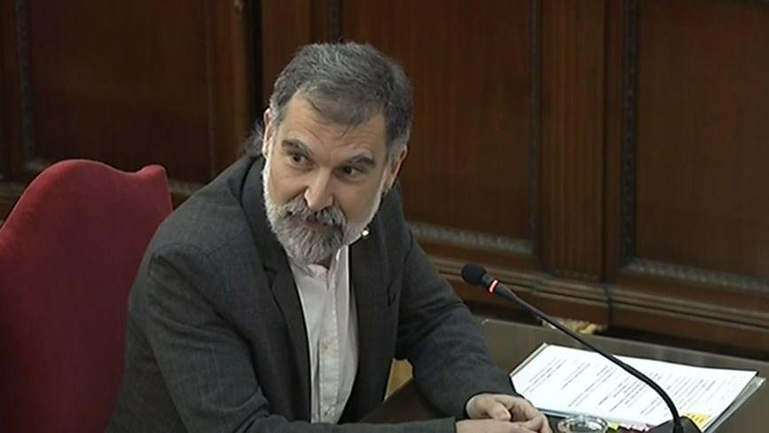 Jordi Cuixart, presidente de Òmnium