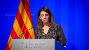 La consellera de Presidencia y portavoz del Govern, Meritxell Budó