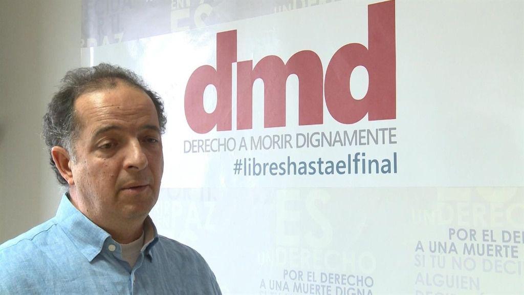 Fernando Marín, vicepresidente de la Asociación Derecho a Morir Dignamente