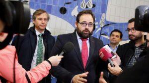 El presidente regional del PP, Paco Nüñez