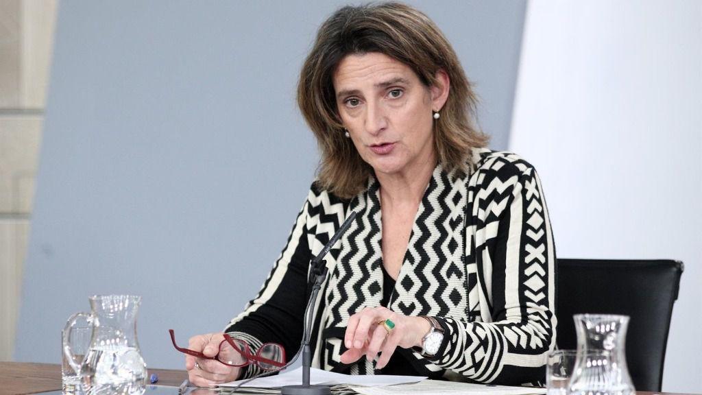 La vicepresidenta de Transición Ecológica, Teresa Ribera
