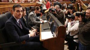 Sesión Plenaria en el Congreso de los Diputados