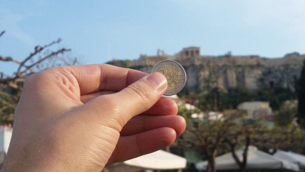 Euro grecia partenon