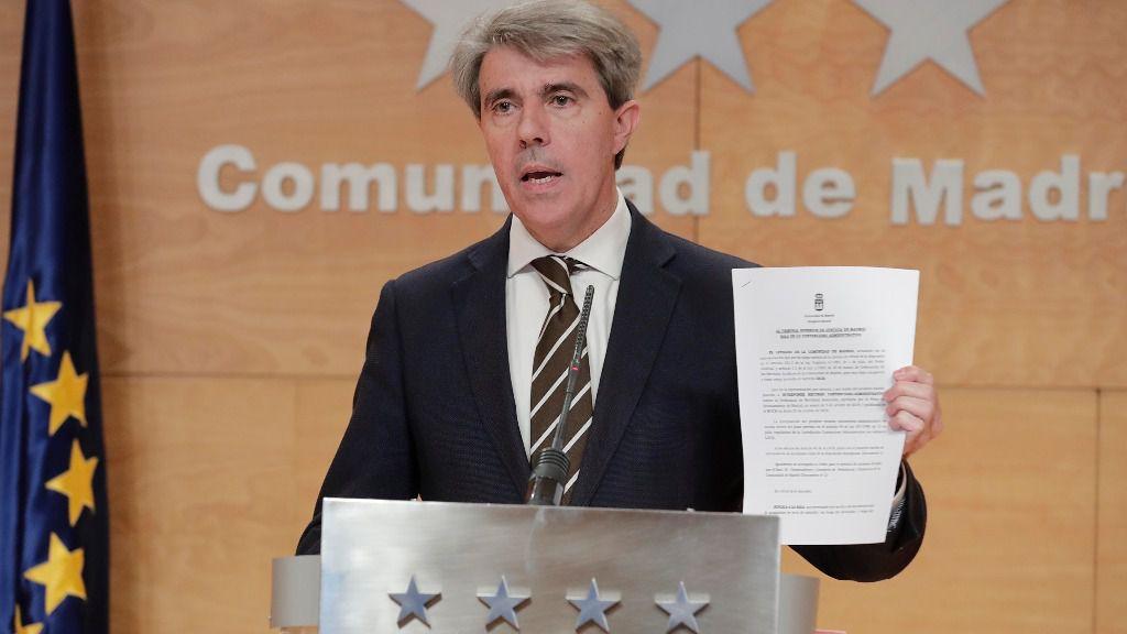 Ángel Garrido, consejero de Transportes, Movilidad e Infraestructuras de la Comunidad de Madrid.