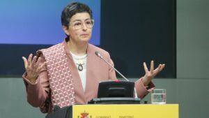 La ministra de Asuntos Exteriores, Unión Europea y Cooperación, Arancha González Laya