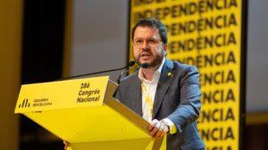 Intervención de Pere Aragonès en el Congrés Nacional d'ERC el 21 de diciembre de 2019