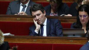 Benjamin Griveaux, excandidato de La República en Marcha (LREM) a la alcaldía de París