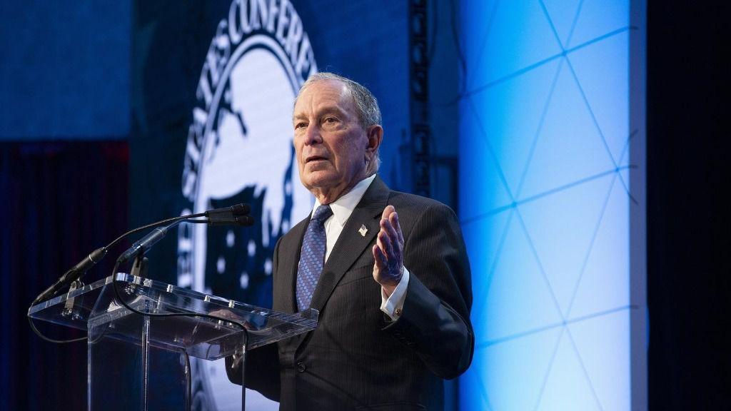 El exalcalde de Nueva York y candidato a las primarias demócratas, Michael Bloomberg