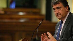 Aitor Esteban en el Congreso de los Diputados