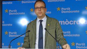 El portavoz del PDeCAT, Marc Solsona