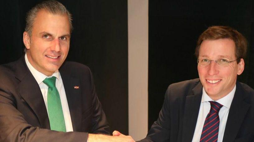 José Luis Martínez-Almeida y Javier Ortega Smith