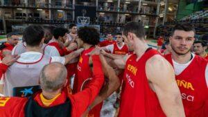 La selección española masculina de baloncesto