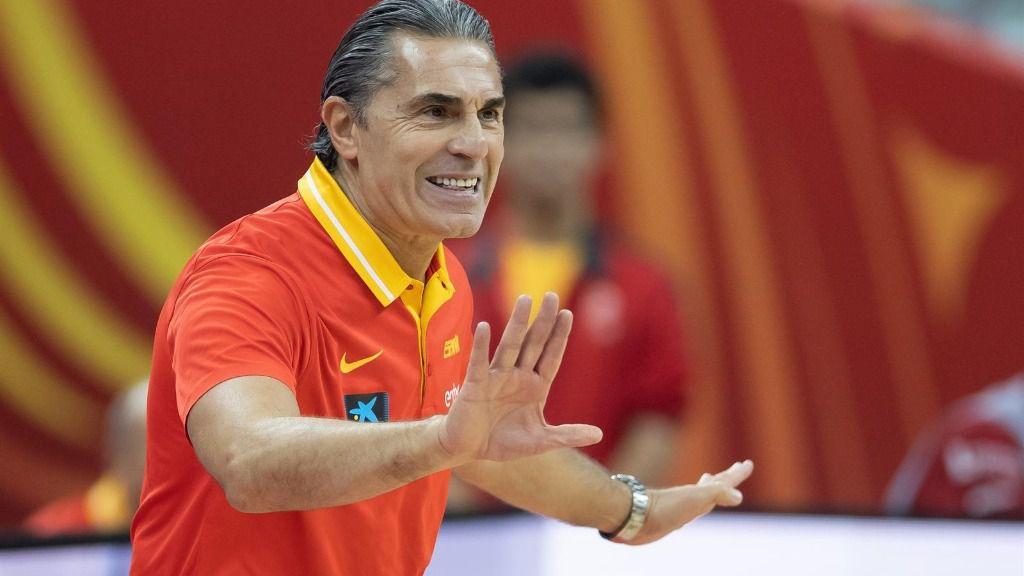 Sergio Scariolo, entrenador de la selección española de baloncesto