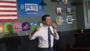 El exalcalde de South Bend y candidato en las primarias demócratas Pete Buttigieg
