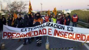 huelga del sector petroquímico en Tarragona
