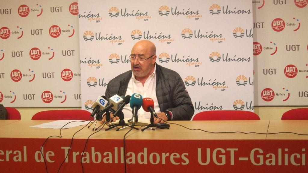 secretario xeral de UU.AA., Roberto García