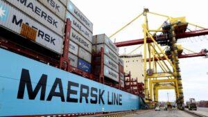 Buque de la naviera Maersk Line