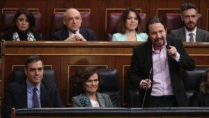 El vicepresidente del Gobierno de Derechos Sociales y Agenda 2030, Pablo Iglesias