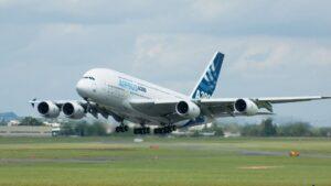 Avión de Airbus