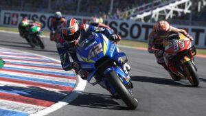 Imagen del videojuego MotoGP 2020