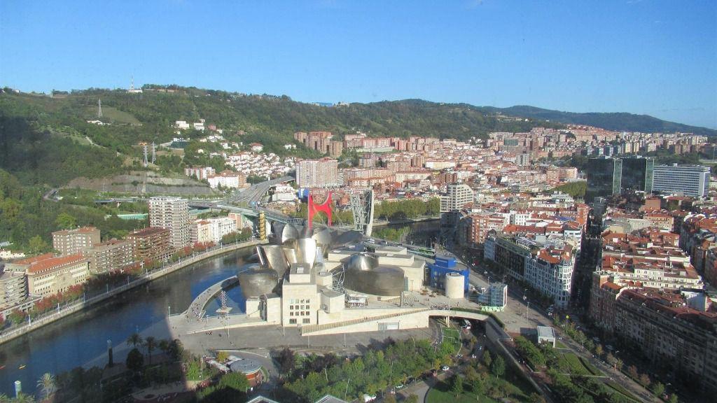 Tiempo soleado en Bilbao