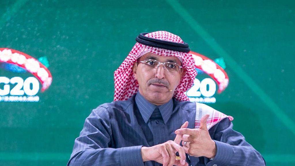 El ministro de Finanzas saudí, Mohamed al Yadan