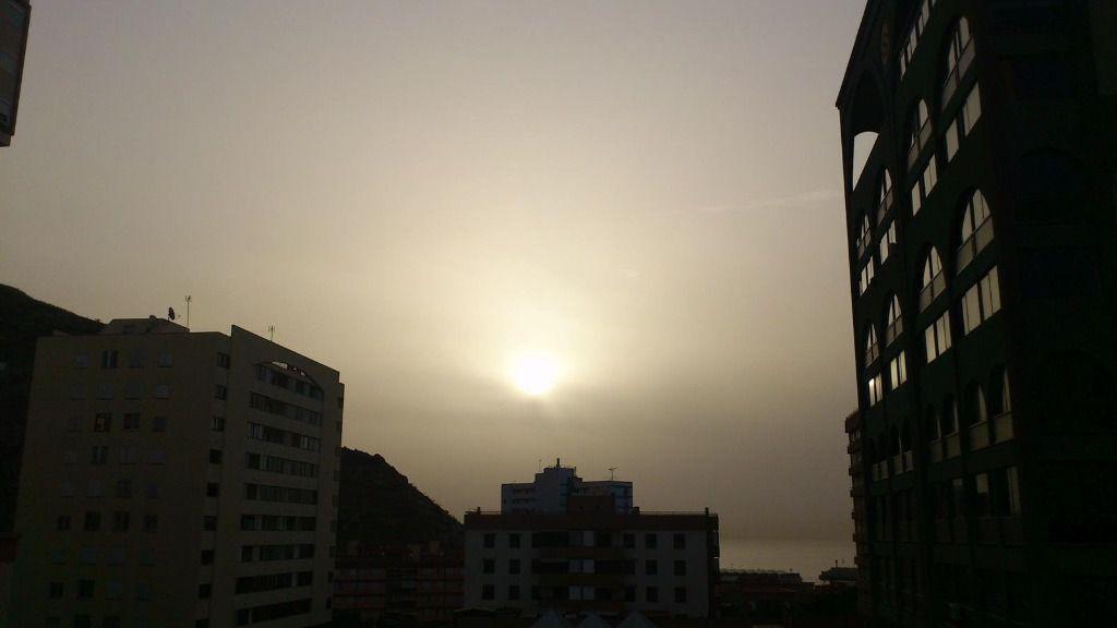 Presencia de calima en Canarias