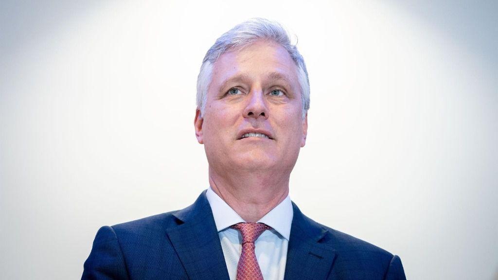 El asesor de Seguridad de la Casa Blanca, Robert O'Brien