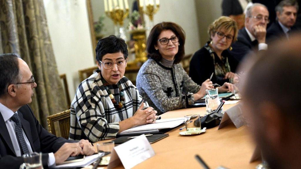a ministra de Asuntos Exteriores, Unión Europea y Cooperación, Arancha González-Laya