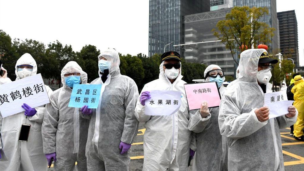 Afectados de coronavirus en el hospital de Wuhan