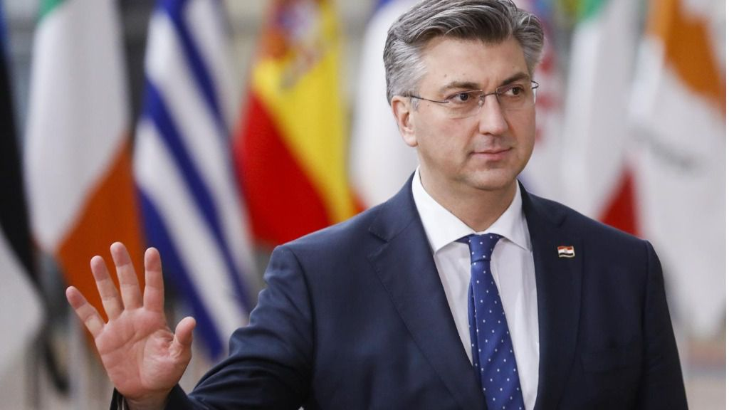 Andrej Plenkovic, primer ministro de Croacia