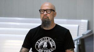 El cantante de Def con Dos, César Augusto Montaña, durante el juicio