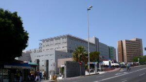 Hospital de La Candelaria, en Santa Cruz de Tenerife