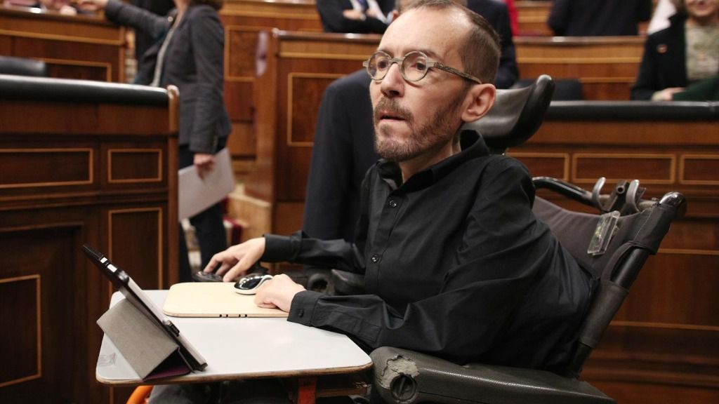 El secretario de Acción de Gobierno, Acción Institucional y Programa de Podemos, Pablo Echenique