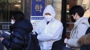 Brote de coronavirus en Corea del Sur