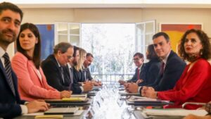 Primera reunión de la mesa de diálogo