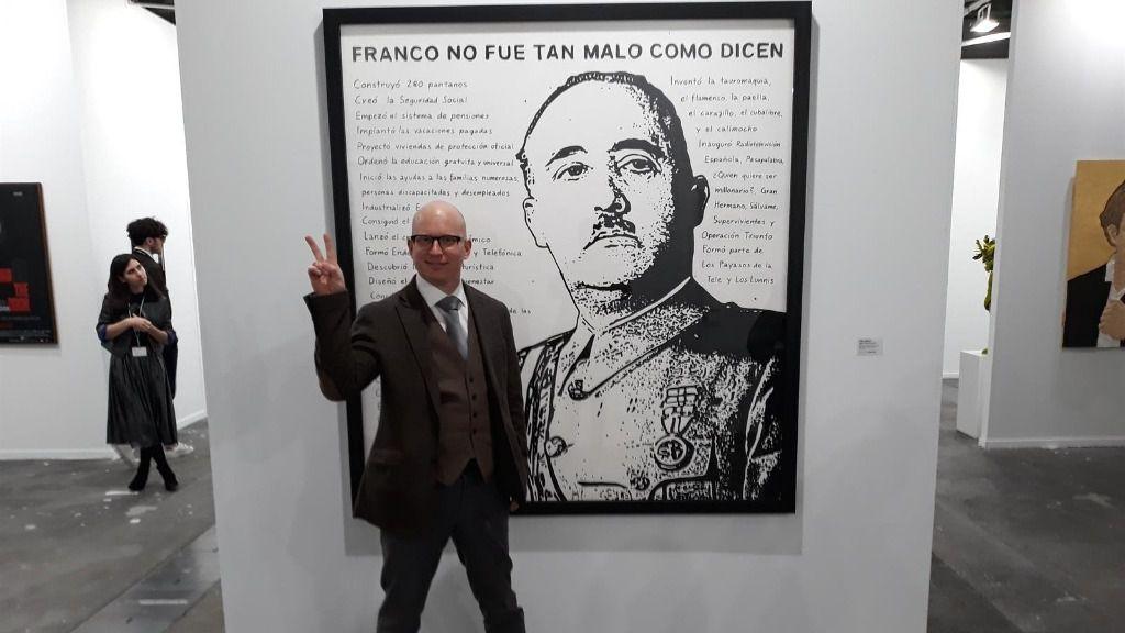 Riiko Sakkinen, el autor de la obra sobre Franco en Arco