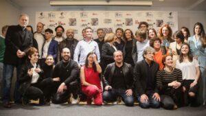 La organización de los premios ha reunido a los nominados antes de la gala del 9 de marzo, que se celebrará en el Teatro Circo Price de Madrid
