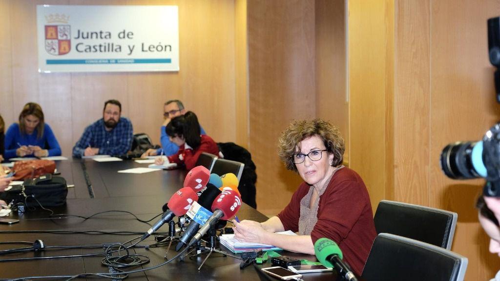 La directora general de Salud Pública de Castilla y León, Carmen Pachecho